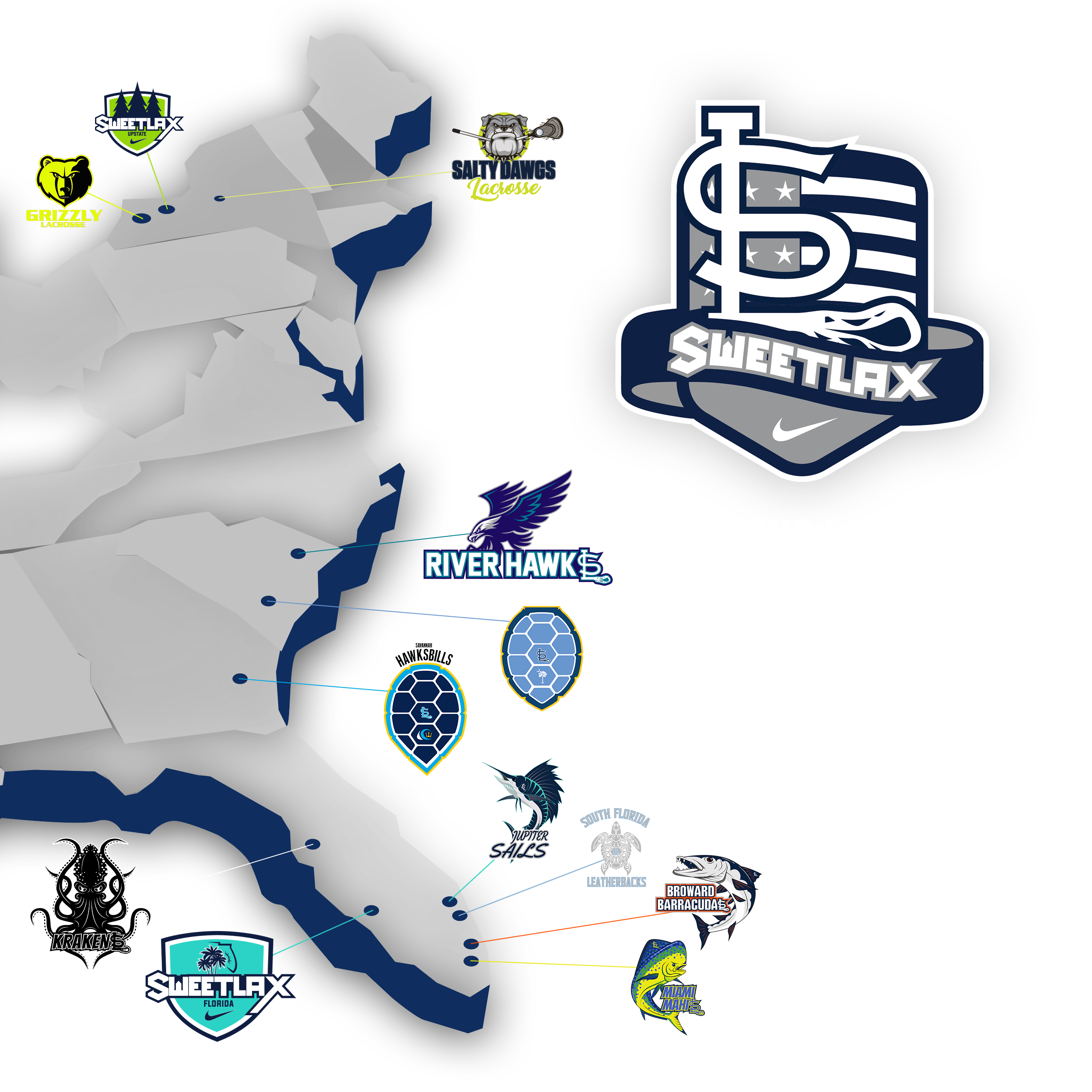 Sweetlax Map transparent